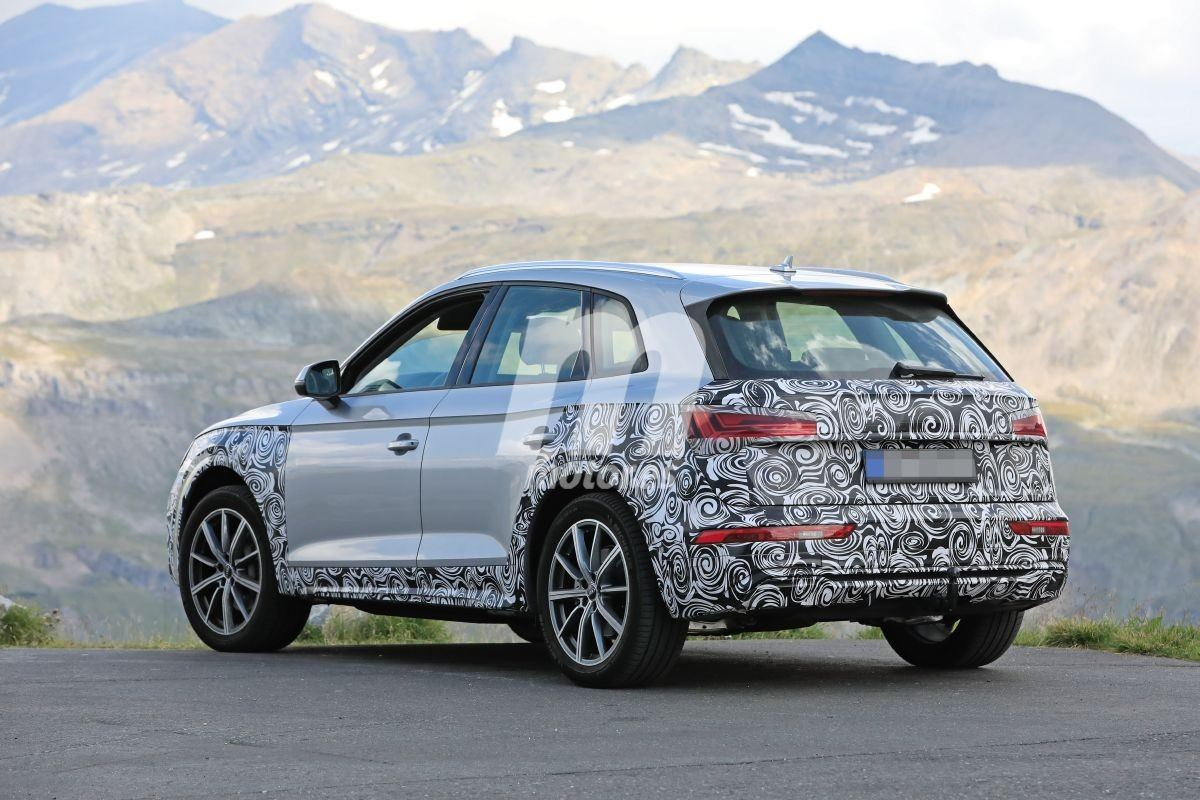 La actualización de medio ciclo de vida del Audi Q5 vuelve a dejarse ver en los Alpes