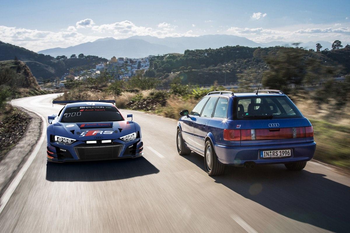 Audi rinde tributo a la gama 'RS' en las 10 Horas de Suzuka