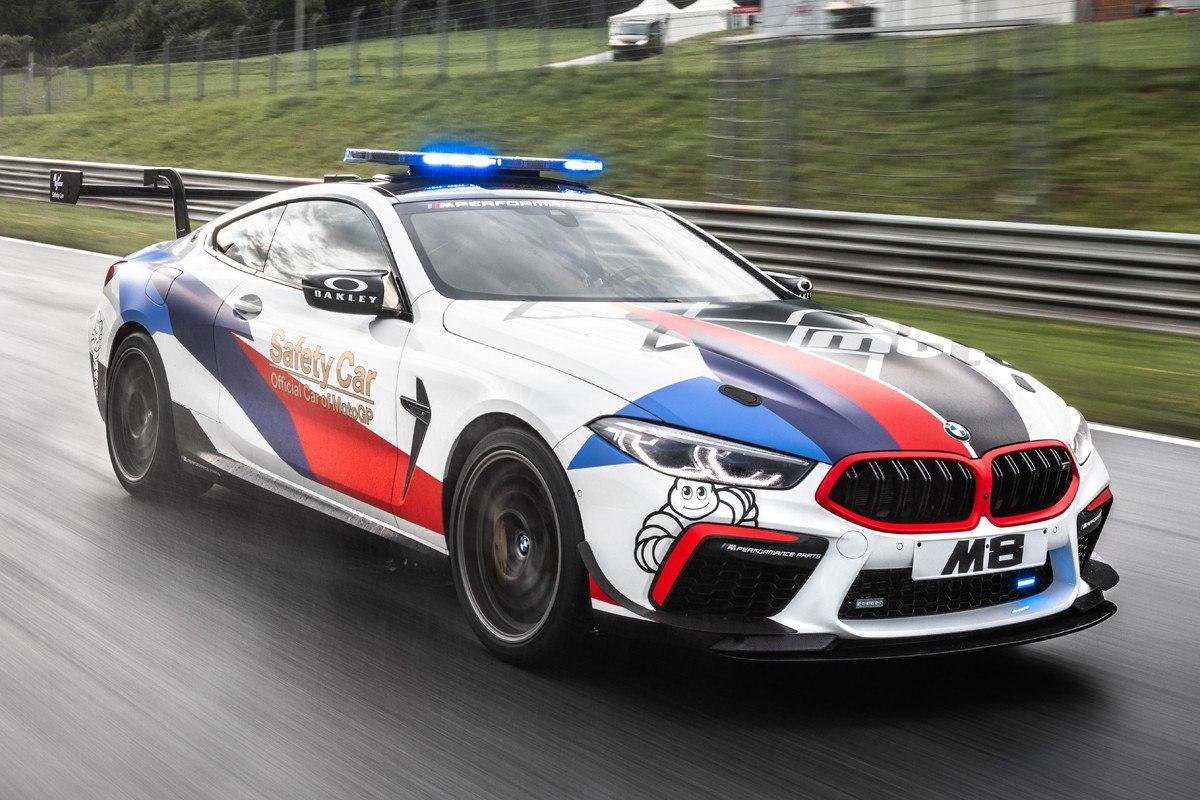 BMW M8 MotoGP Safety Car: al servicio de los pilotos