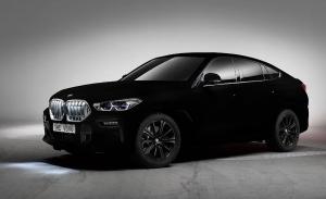 BMW X6 Vantablack VBx2, ¿el coche más negro de mundo?