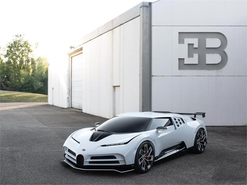 El nuevo Bugatti Centodieci filtrado antes de su presentación