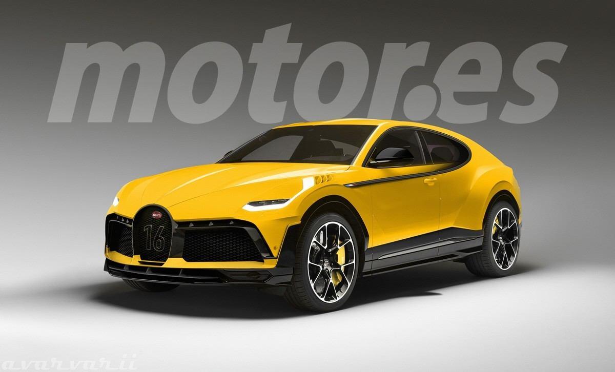 El SUV de Bugatti será una realidad gracias a la electrificación
