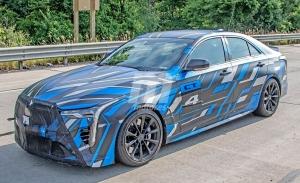 Los prototipos del futuro Cadillac CT4-V Blackwing están probando transmisión manual