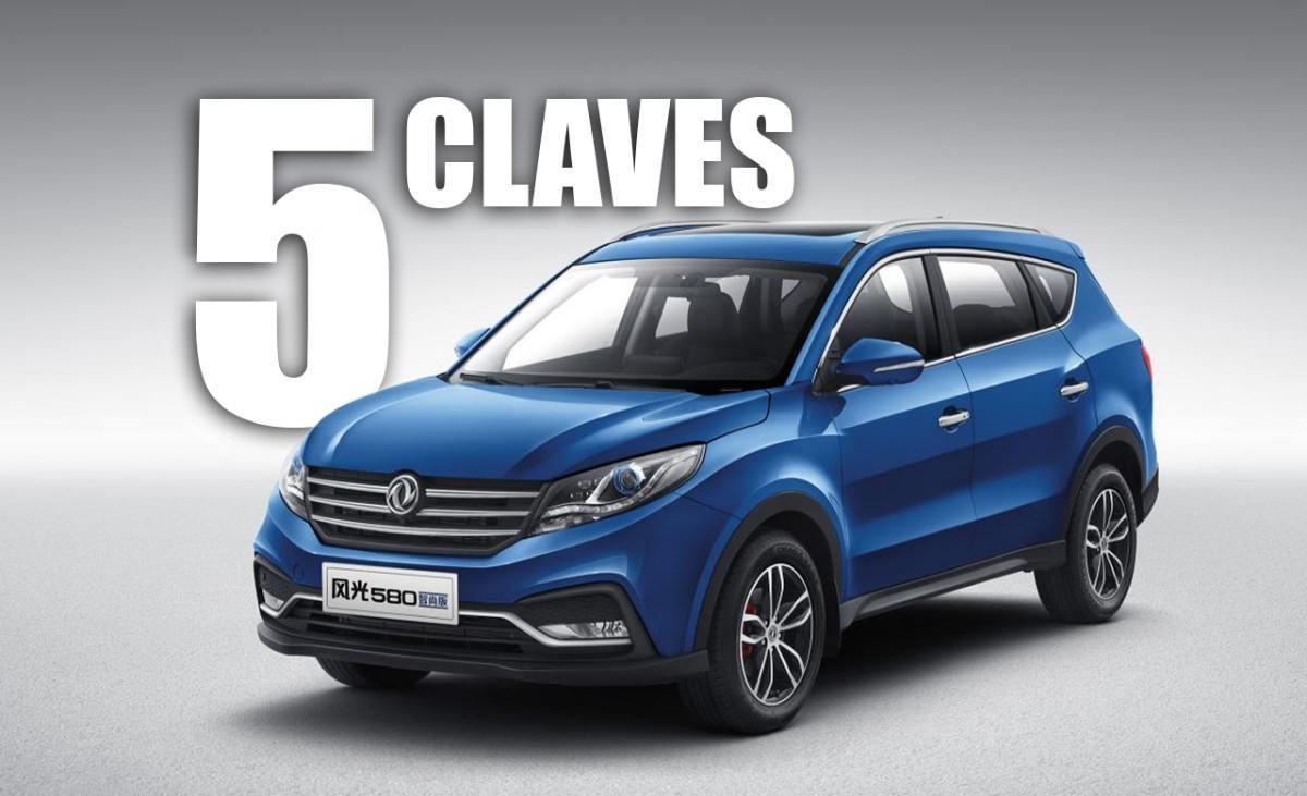 Las 5 claves del DFSK 580, el SUV chino que puedes comprar en España