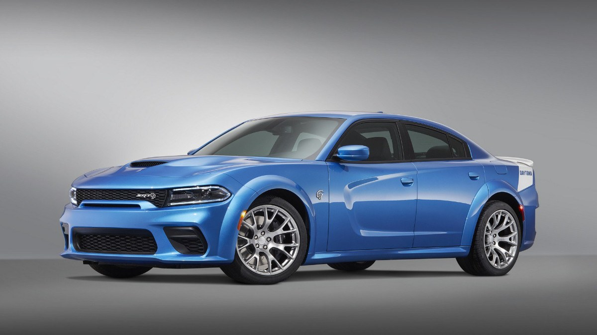 Dodge presenta el nuevo Charger SRT Hellcat Widebody Daytona 50th Anniversary