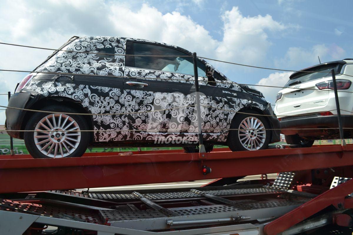 Nuevas fotos espía desvelan detalles del futuro Fiat 500 eléctrico