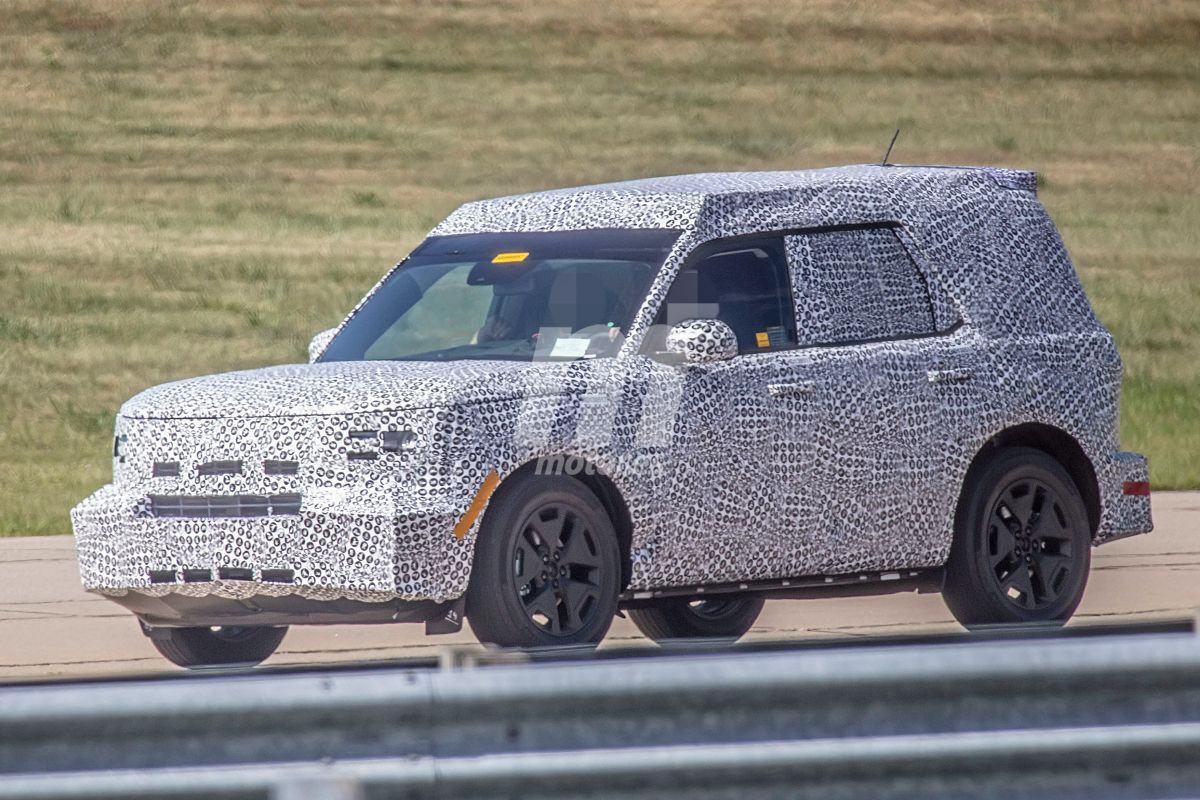 """Primeras imágenes del Ford """"Baby Bronco"""" sobre el asfalto"""