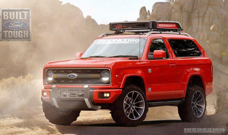 Ford registra numerosas denominaciones para el futuro Bronco
