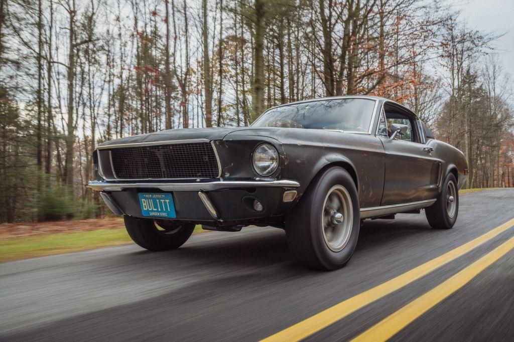 Uno de los Ford Mustang Bullitt originales saldrá a subasta