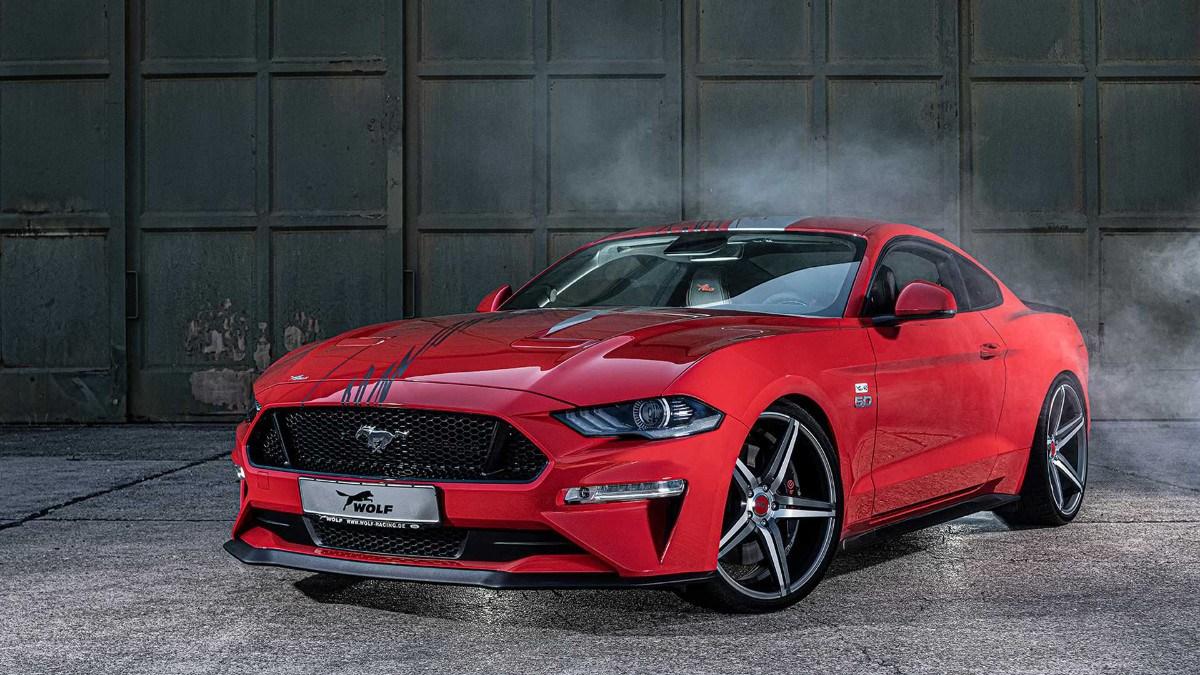 El nuevo Ford Mustang de Wolf Racing es una bestia de 745 CV nacida en Europa