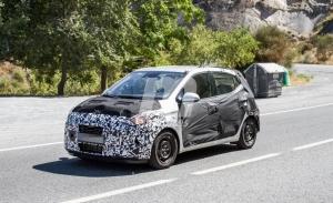 El nuevo Hyundai i10 2020 pierde camuflaje a su paso por España