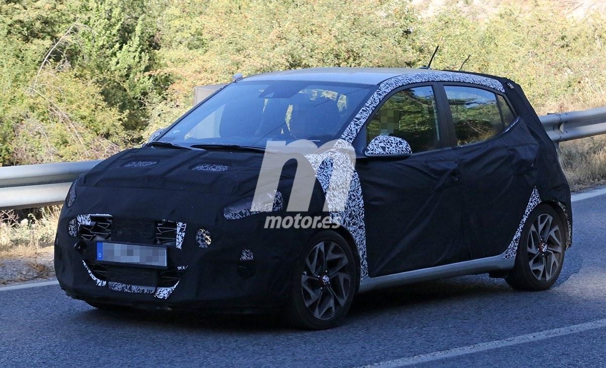 La nueva generación del Hyundai i10 contará con el acabado N Line