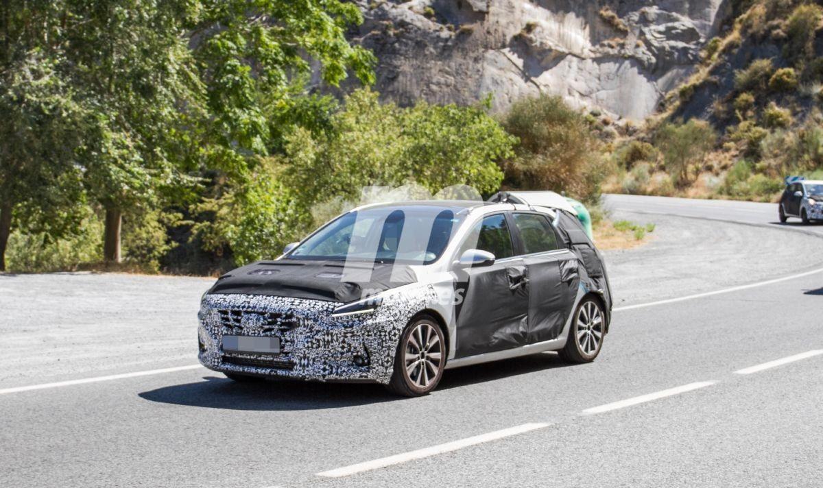 El nuevo Hyundai i30 2020 comienza a perder camuflaje