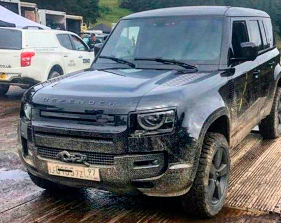 El nuevo Land Rover Defender 2020 se filtra una vez más