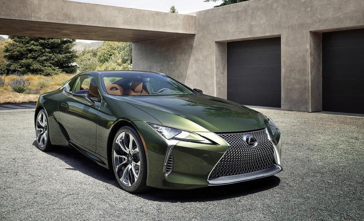 El Lexus LC estrena una edición limitada con una nueva gama de colores