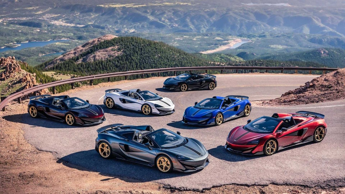 Nueva edición limitada McLaren 600LT Spider Pikes Peak Collection