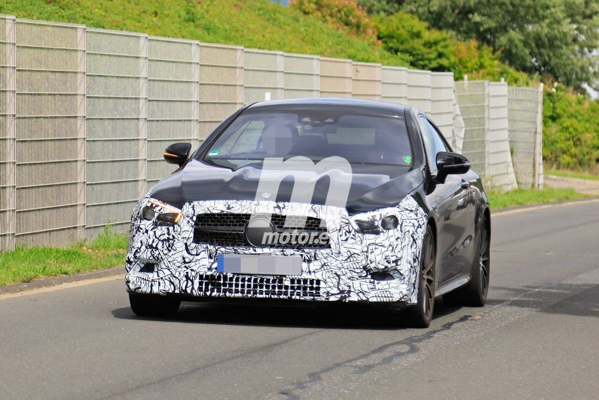El actualizado Mercedes-AMG E 53 Coupé 2020 también se suma a las pruebas en Nürburgring