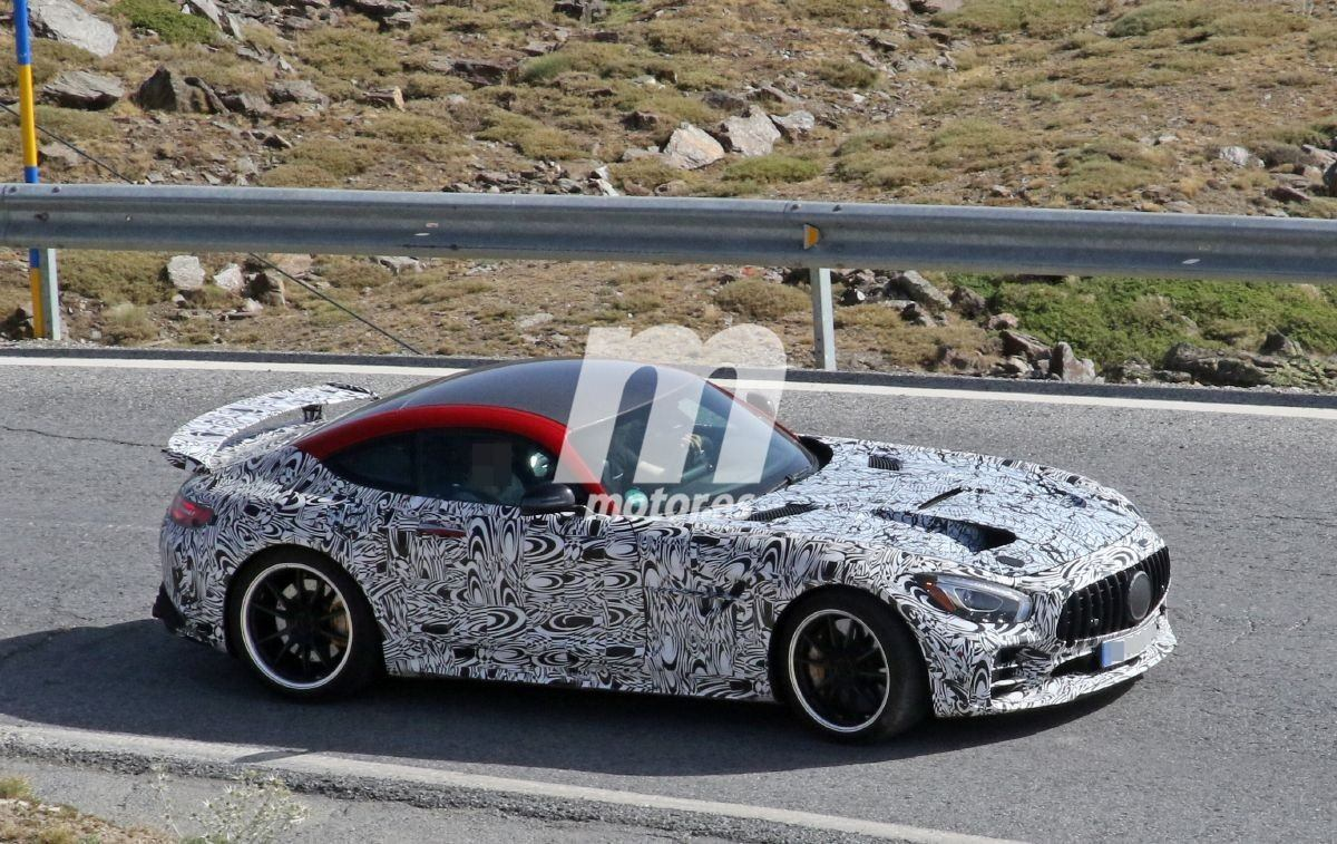 Cazado el prototipo de producción del Mercedes AMG GT R Black Series 2020