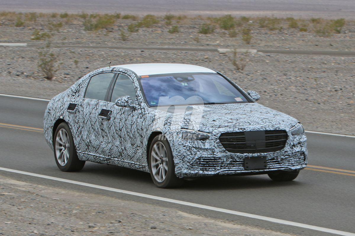 El futuro Mercedes Clase S 2020 se deja ver con menos camuflaje