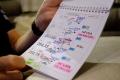 Así será el 'roadbook' en color que se usará en el Dakar 2020