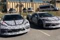 Al descubierto dos supuestos prototipos del nuevo Chevrolet Corvette híbrido