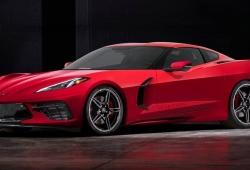 Así sería el actual Chevrolet Corvette C8 con motor delantero