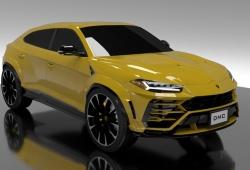 El exclusivo Lamborghini Urus recibe un paquete de mejoras de DMC