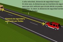 El RACE hace una prueba sobre la distancia de seguridad