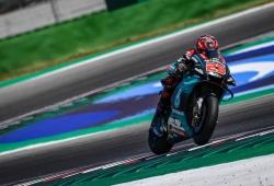 Fabio Quartararo lleva la voz cantante en el test de MotoGP en Misano