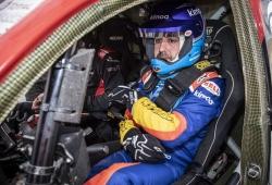 Fernando Alonso repite con el Toyota del Dakar en Namibia