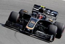 Haas decide continuar compitiendo con el VF19 actualizado de Hockenheim