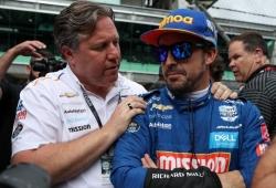 """Brown: """"Veré a Alonso en Italia, pero no creo que desee hacer toda la temporada"""""""