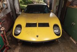 A subasta un Lamborghini Miura P400 S rescatado en la Selva Negra