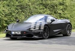 El esperado McLaren 750LT al detalle en estas fotos espía