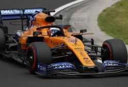 McLaren cree que las actualizaciones de Hungría mejoraron el MCL34 en curva lenta