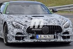 El nuevo Mercedes-AMG GT R Black Series llega a Nürburgring con un nuevo spoiler