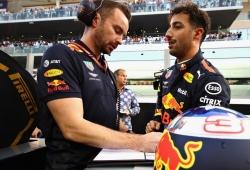 Perder a su ingeniero influyó en su decisión de abandonar Red Bull, según Ricciardo