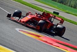 """Pole de Leclerc sin rebufos: """"Quería estar solo para preparar la vuelta y ha funcionado bien"""""""