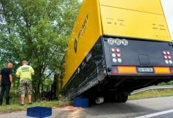 Renault no se verá afectado por el accidente de uno de sus camiones rumbo a Hungría