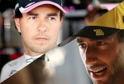 """Ricciardo y Pérez explican su encontronazo en la Q1: """"Ha sido un día de mierda"""""""