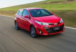 Argentina - Julio 2019: El Toyota Yaris alcanza cotas inéditas
