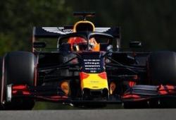 Verstappen, sin opción a nada tras tener problemas con el motor Honda