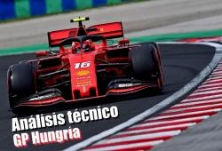 [Vídeo] F1 2019: análisis técnico del GP de Hungría