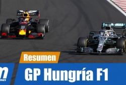 [Vídeo] Resumen del GP de Hungría de F1 2019