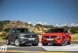 Comparativa VW T-Cross vs VW T-ROC, juntos pero no revueltos (Con vídeo)