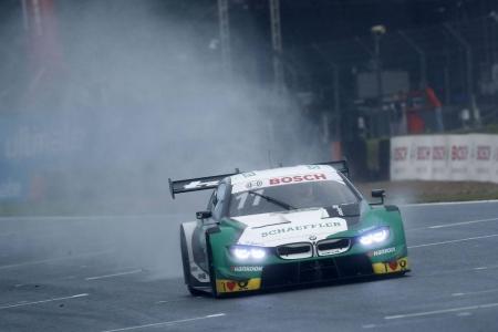 Marco Wittmann logra la pole bajo la lluvia de Brands Hatch