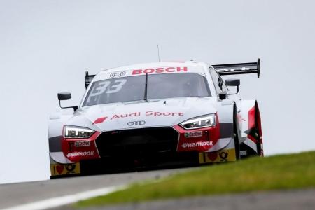 Pole de René Rast en el pleno de Audi en Brands Hatch