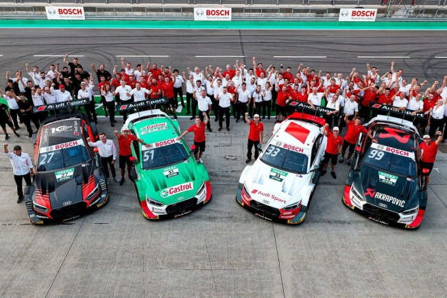 Audi gana el título del DTM mientras Rast y Müller suben su apuesta