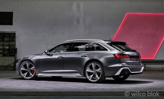 Audi RS 6 Avant 2020 - posterior