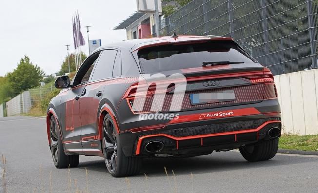 Audi RS Q8 - foto espía posterior